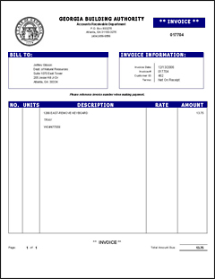 Billing Invoice Template Free Invoice Example - Free billing invoice templates for service business
