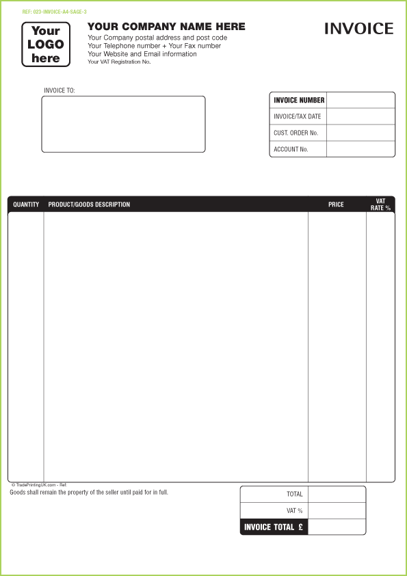 Normal Invoice Format Pasoevolistco - Free printable invoice templates word
