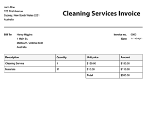 Free Invoice Templates | Online Invoices