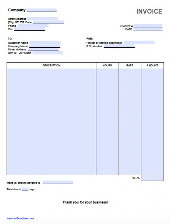 blank invoice template for microsoft word selimtd simple invoice – Sample Invoice Word Doc