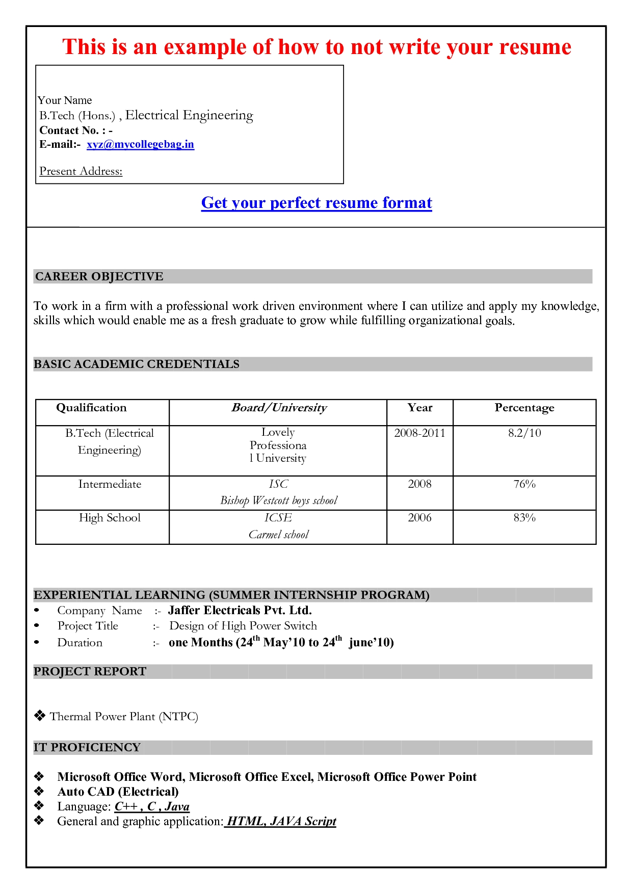 Report Template Word 2007 Ukranochi