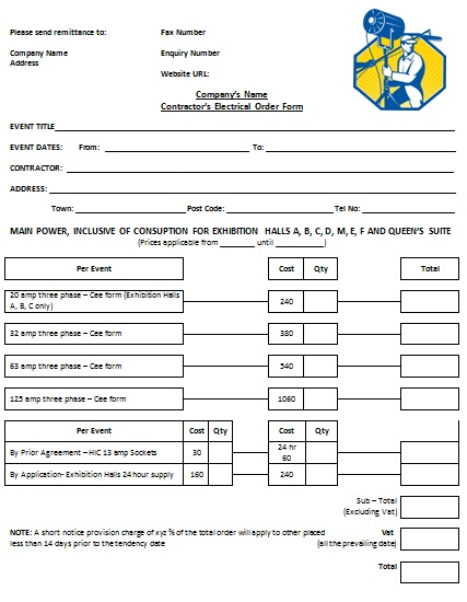 Free Electrical Invoice Template Invoice Template 2017