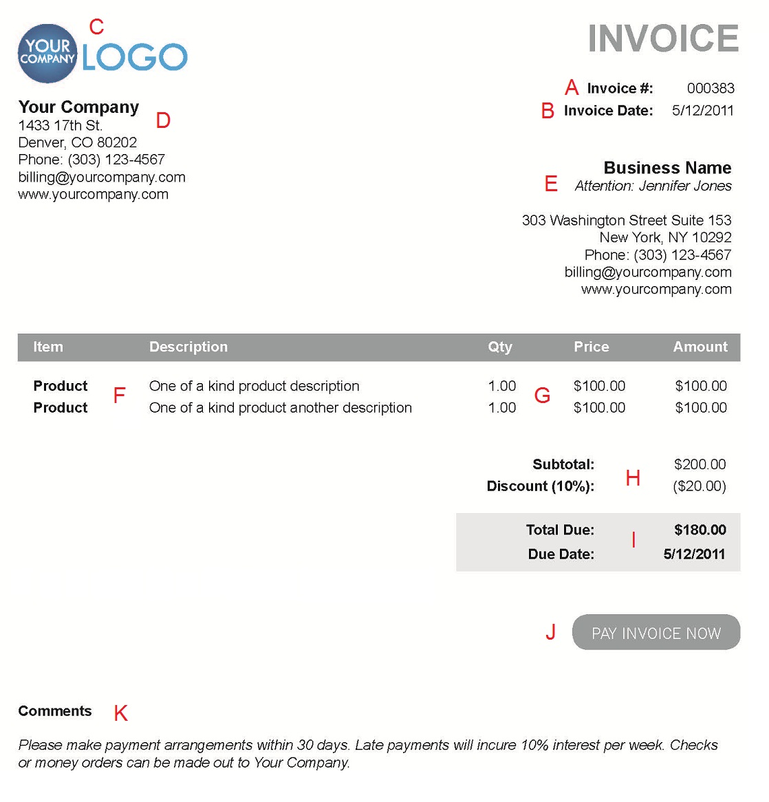 freelance invoicing