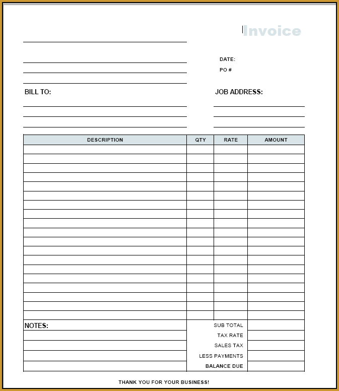 Free Invoice Template Pdf Invoice Example - Invoice pdf