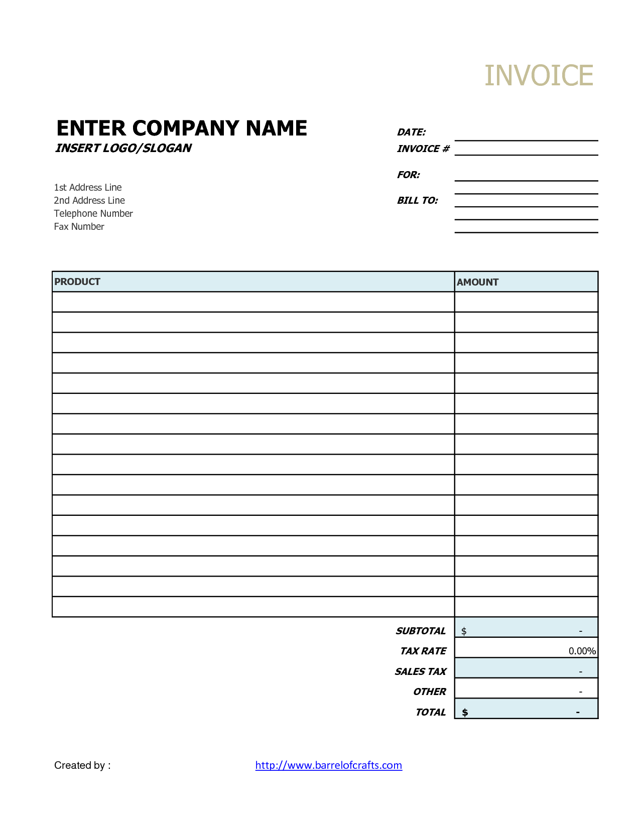 Free Simple Invoice Template Uk Letter Template Sample