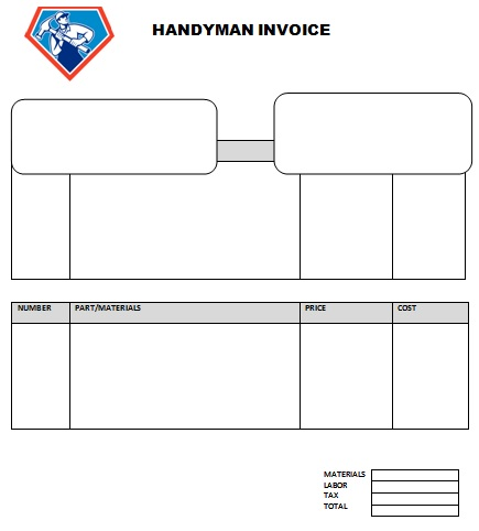 Handyman Invoice Template Invoice Example - Free handyman invoice template