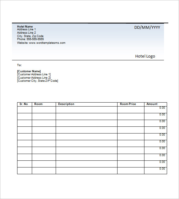 Sample Invoice Xls