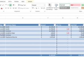 Invoice Record Keeping Template ⋆ Invoice Template