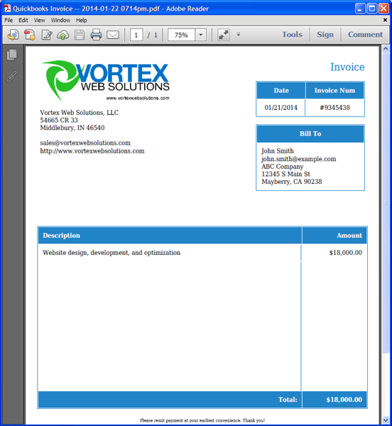 quickbooks template gallery quickbooks invoice templates word - Boat.jeremyeaton.co