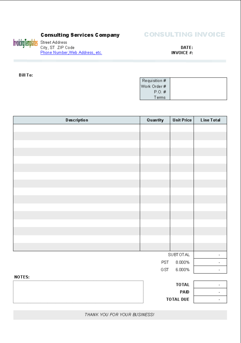 Mac Invoice Template Pertaminico - Invoice template numbers mac