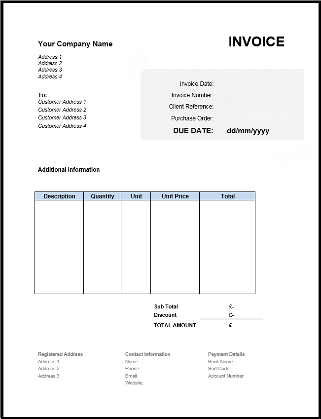 Invoice Templates | Invoice Examples