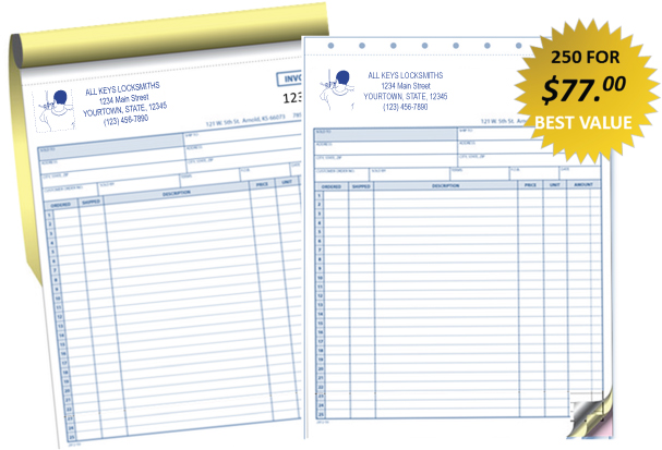 Locksmith Invoice Template Free Invoice Example - Trucking company invoice template