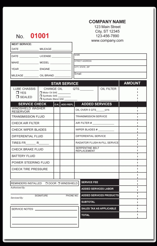 Locksmith Invoice Template Free | Design Invoice Template