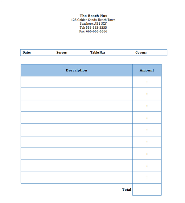 Doc550613 Personal Invoice Template Word Free Personal – Word Document Invoice