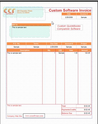 quickbooks invoice template invoice example