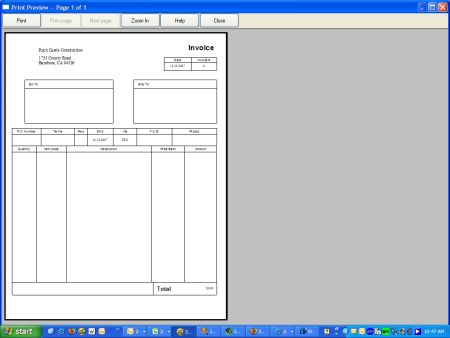 quickbooks invoice template for word. catering invoice template, Invoice templates