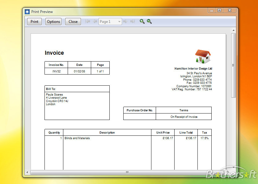 Invoice Templates Free Uk Excel Template Invoice Self Employed