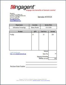 Vendor Invoice Sample Invoice Example - Vendor invoice template