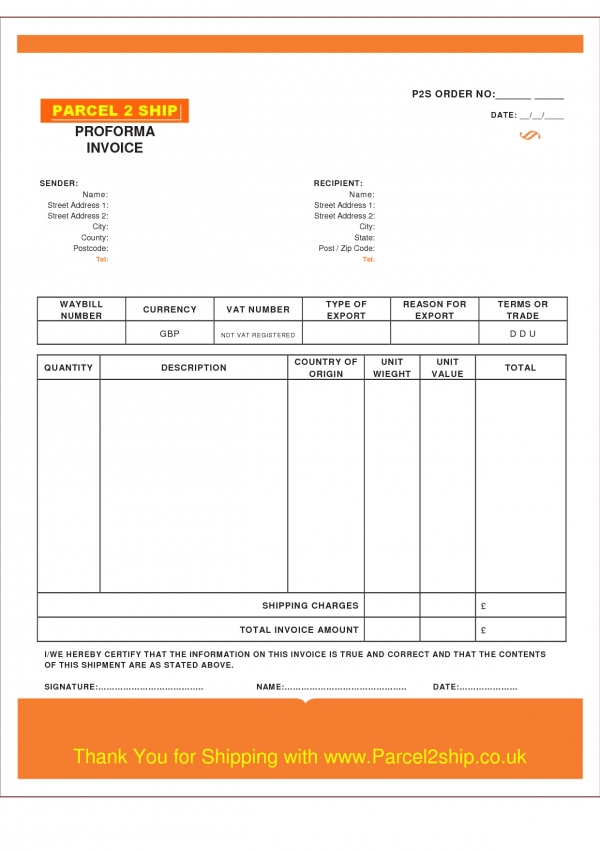 Contractor Invoice Template Uk Invoice Example