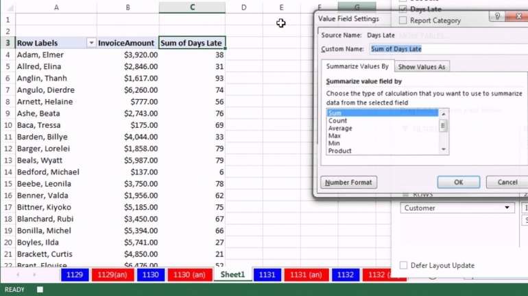 Invoice Template For Excel 2010