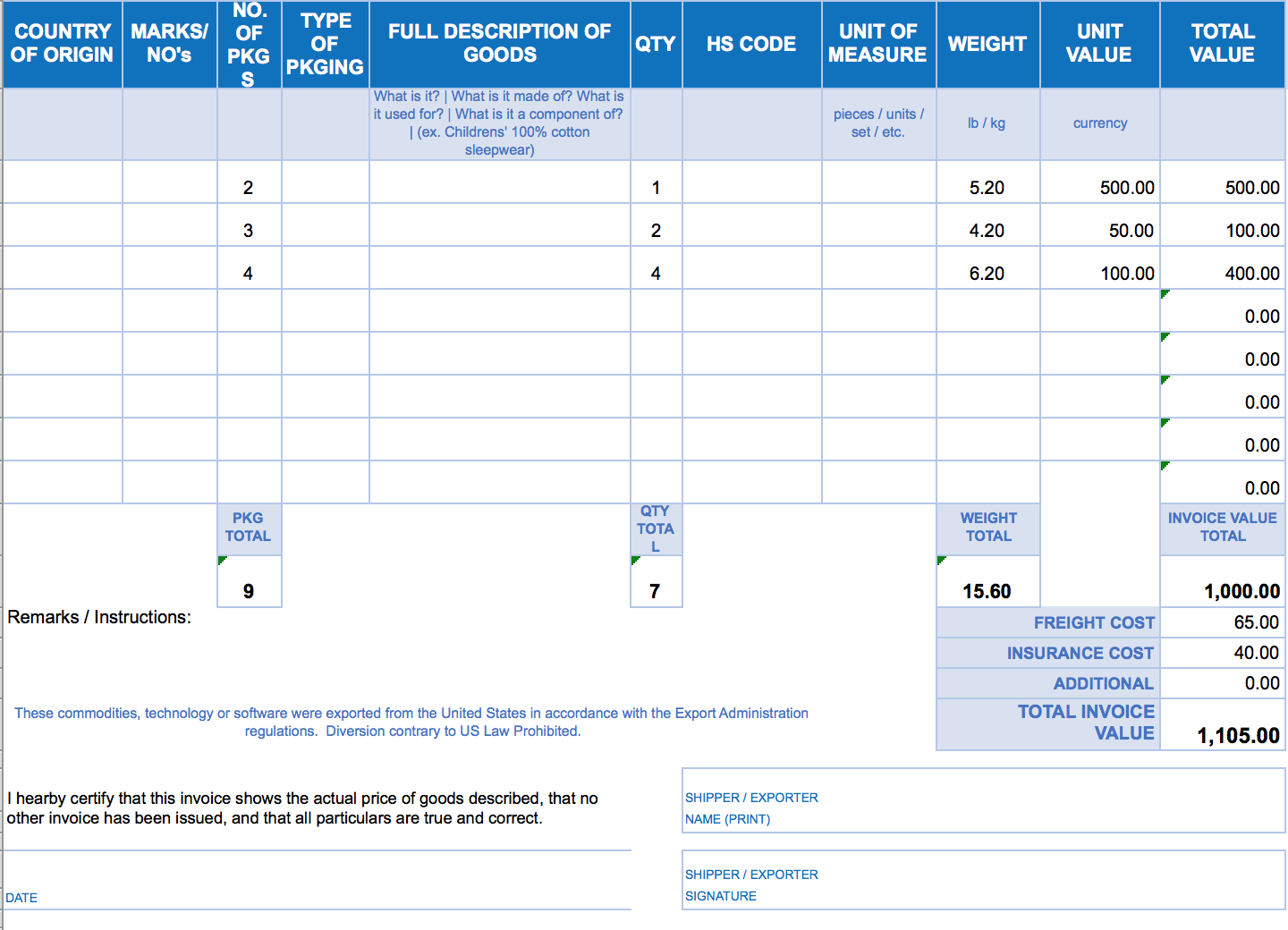 invoice template nz excel invoice example