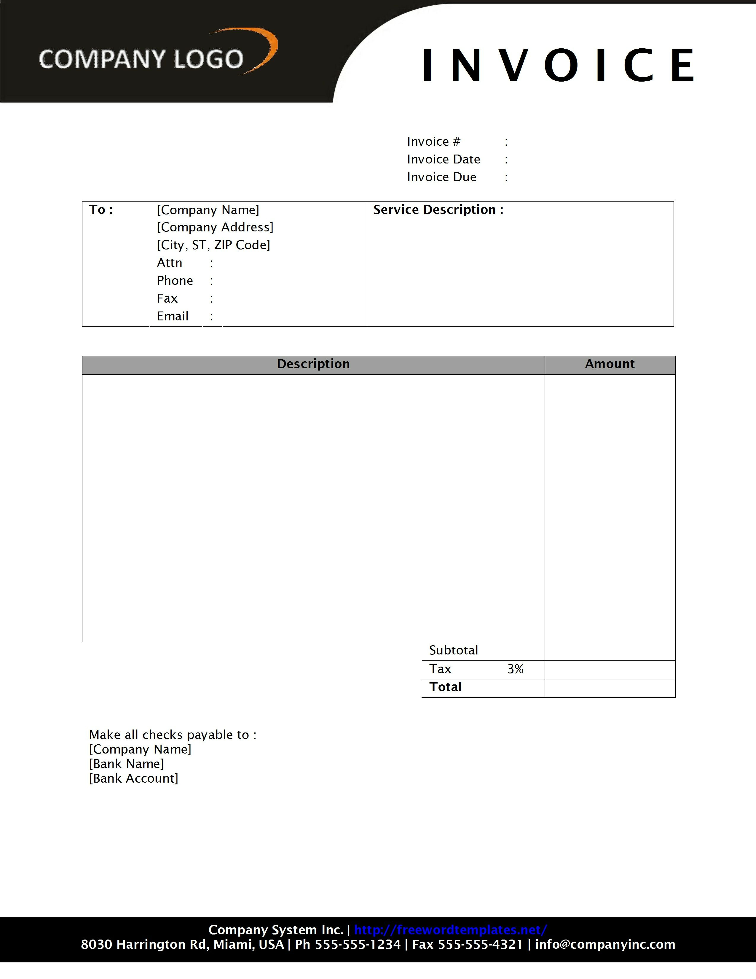 microsoft word invoice template download invoice template word 2010 invoice example 23652