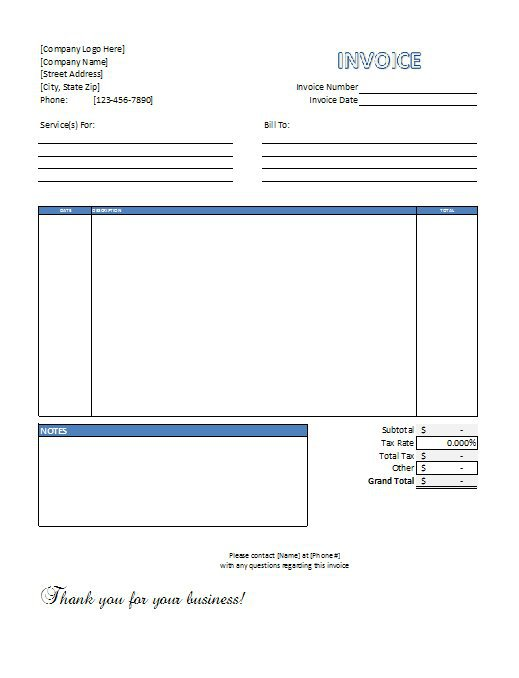 professional invoice template excel invoice example. Black Bedroom Furniture Sets. Home Design Ideas